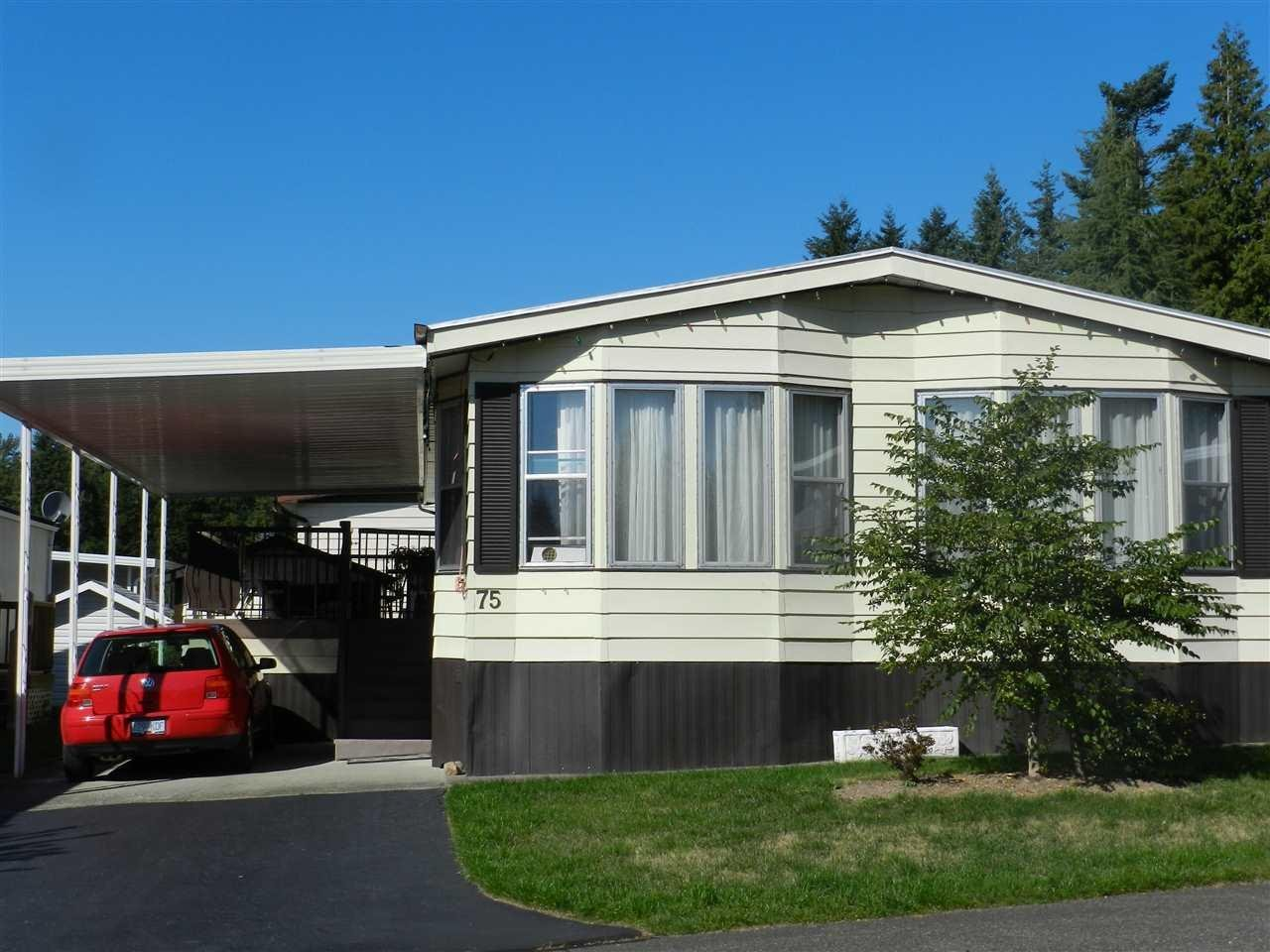 R2000868 - 75 2315 198 STREET, Brookswood Langley, Langley, BC - Manufactured