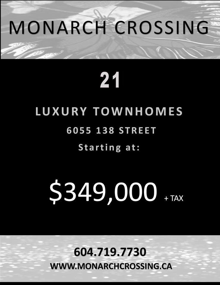 R2003886 - 12 6055 138 STREET, Sullivan Station, Surrey, BC - Townhouse