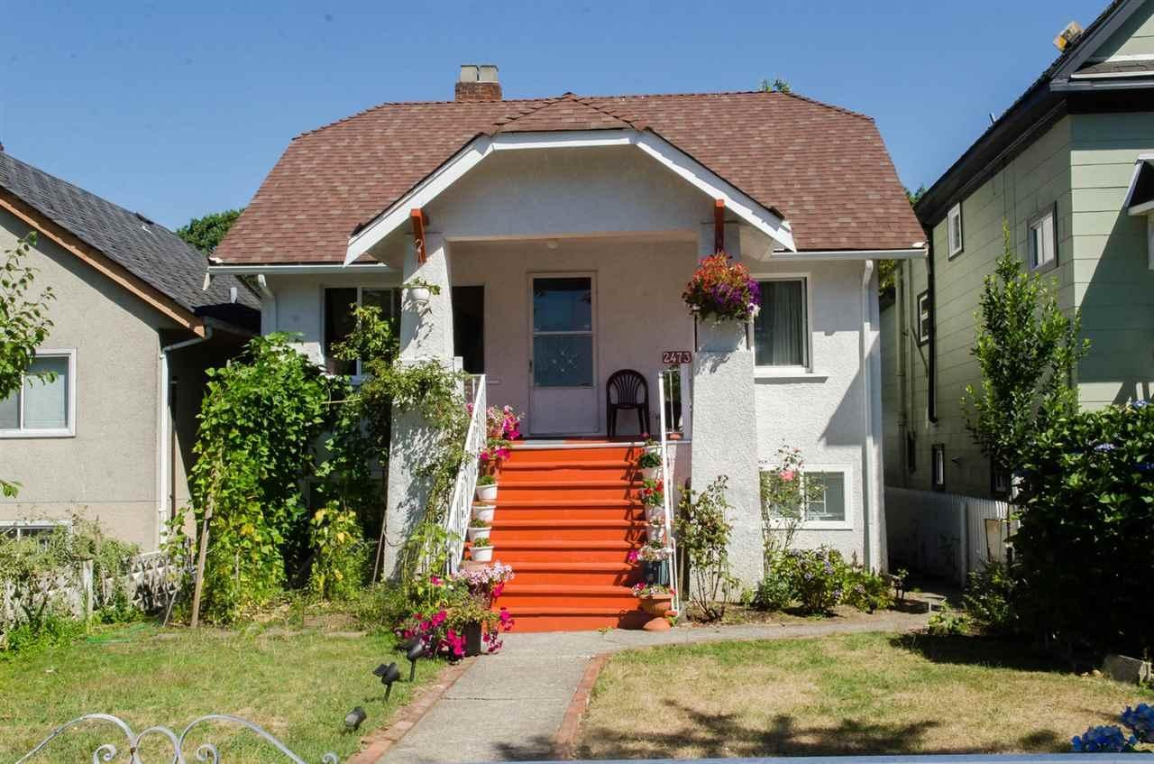 R2009396 - 2473 CAMBRIDGE STREET, Hastings East, Vancouver, BC - House/Single Family