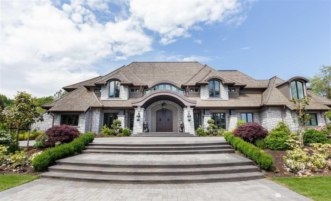 R2018643 - 13283 56 AVENUE, Panorama Ridge, Surrey, BC - House with Acreage