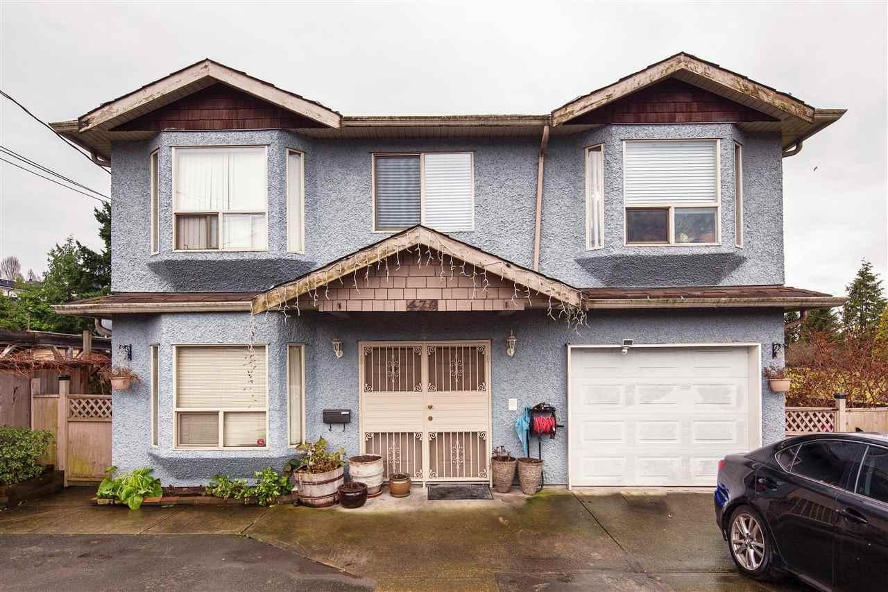 R2018982 - 470 E 41ST AVENUE, Fraser VE, Vancouver, BC - House/Single Family