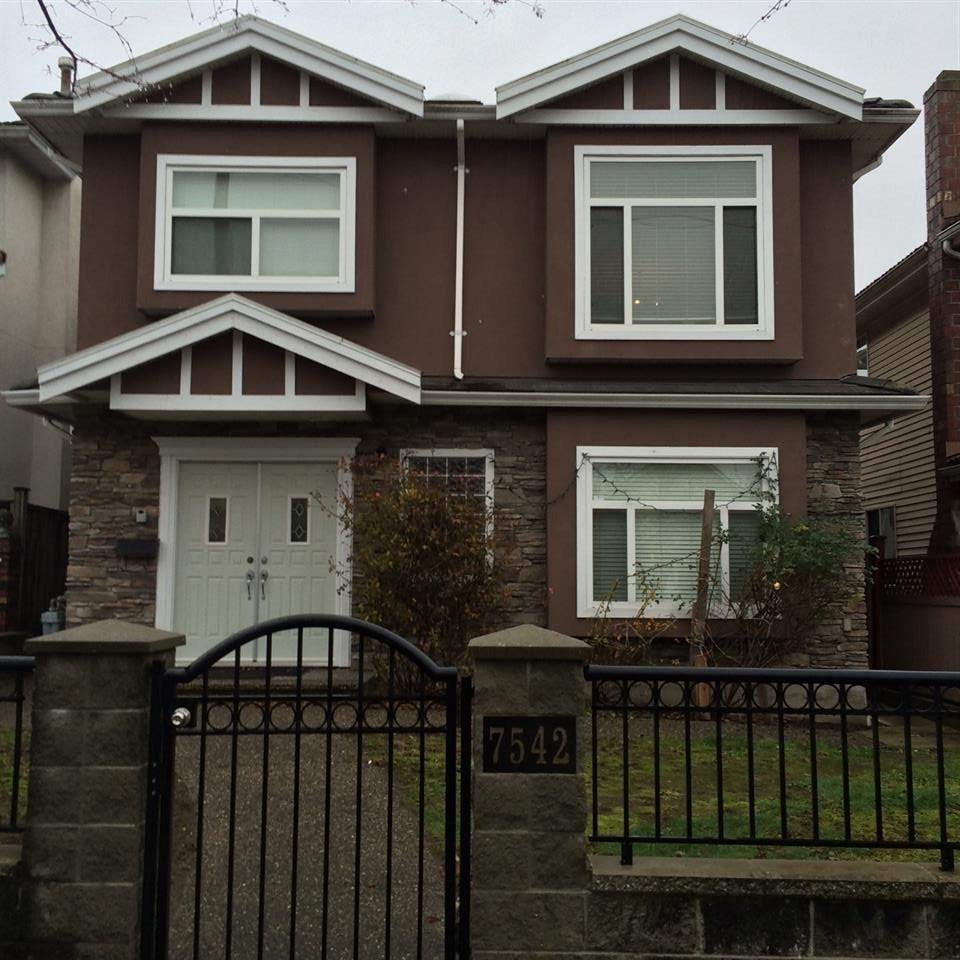 R2020952 - 7542 ONTARIO STREET, South Vancouver, Vancouver, BC - House/Single Family