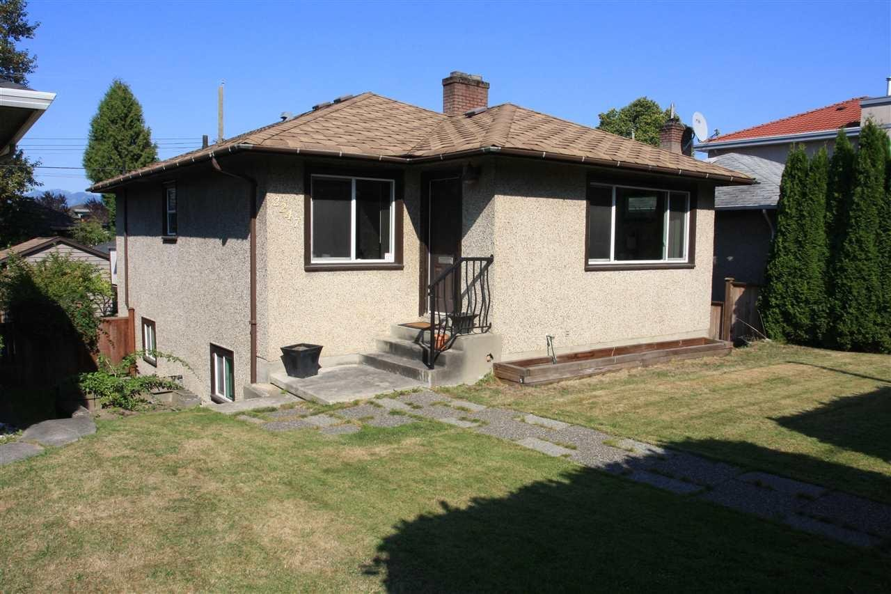 R2022789 - 2247 E 41ST AVENUE, Victoria VE, Vancouver, BC - House/Single Family