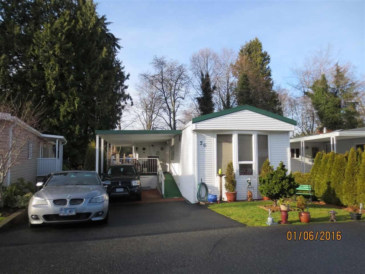 R2024339 - 26 2315 198 STREET, Brookswood Langley, Langley, BC - Manufactured