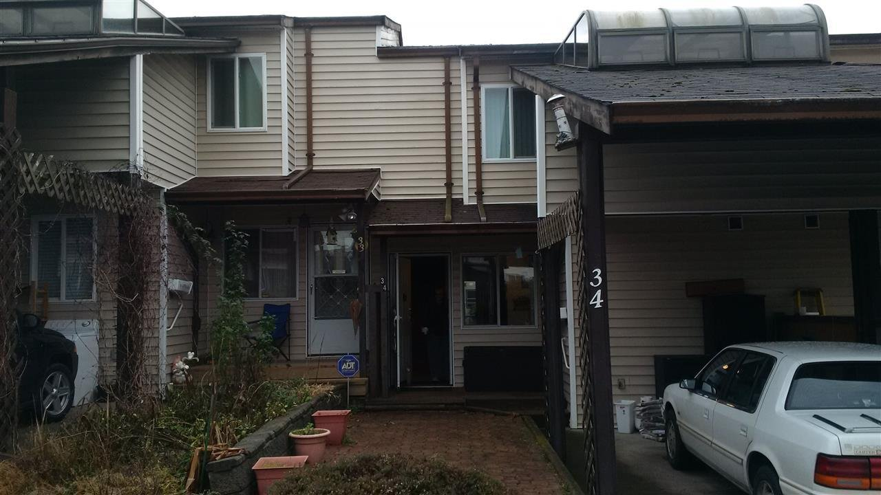 R2025553 - 34 27272 32 AVENUE, Aldergrove Langley, Langley, BC - Townhouse