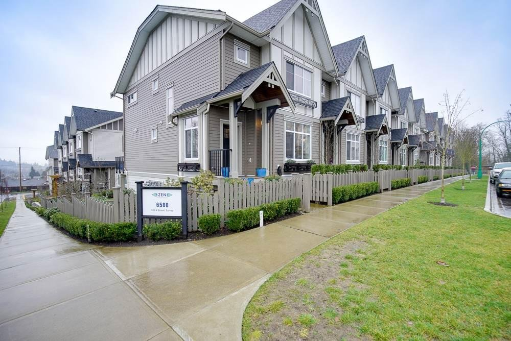 R2030813 - 10 6588 195A STREET, Clayton, Surrey, BC - Townhouse