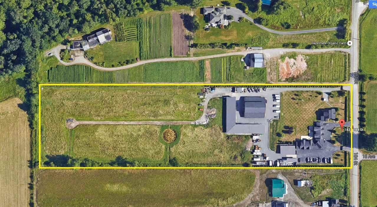 R2034609 - 1831 184 STREET, Hazelmere, Surrey, BC - House with Acreage