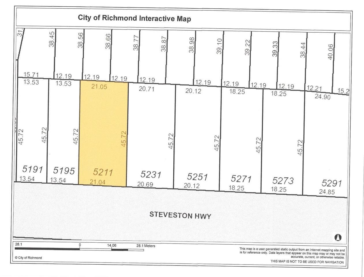 R2034872 - 5211 STEVESTON HIGHWAY, Steveston North, Richmond, BC - House/Single Family