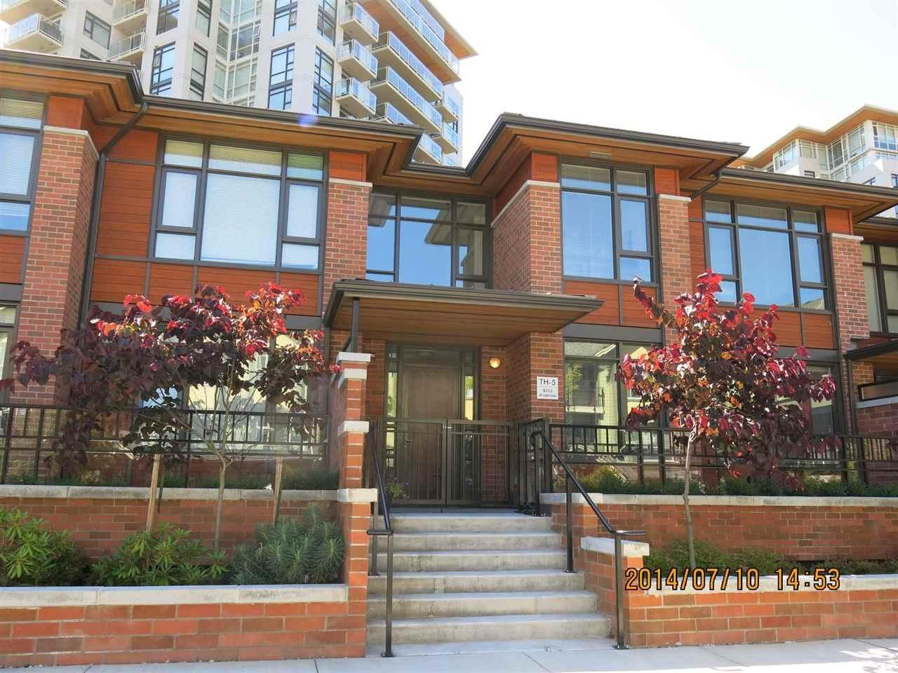 R2044757 - TH5 8333 ANDERSON ROAD, Brighouse, Richmond, BC - Townhouse