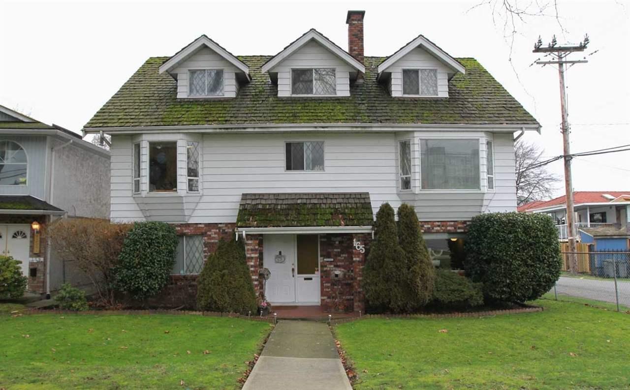 R2051869 - 165 E WOODSTOCK AVENUE, Main, Vancouver, BC - House/Single Family