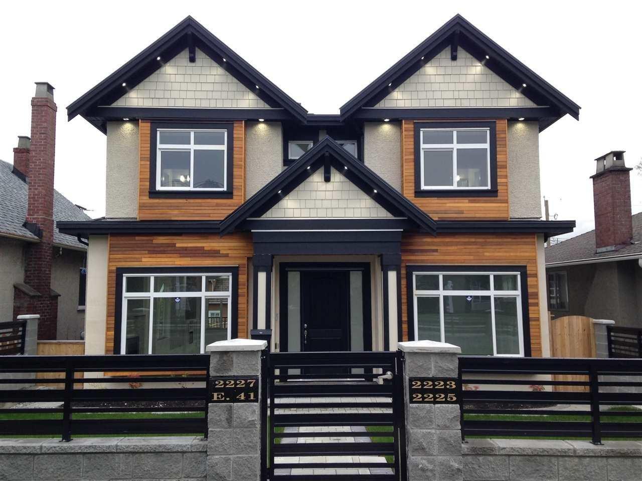 R2053771 - 2223 E 41ST AVENUE, Victoria VE, Vancouver, BC - House/Single Family