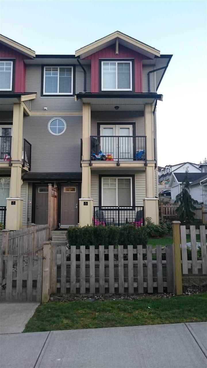 R2053870 - 13 13886 62 AVENUE, Sullivan Station, Surrey, BC - Townhouse