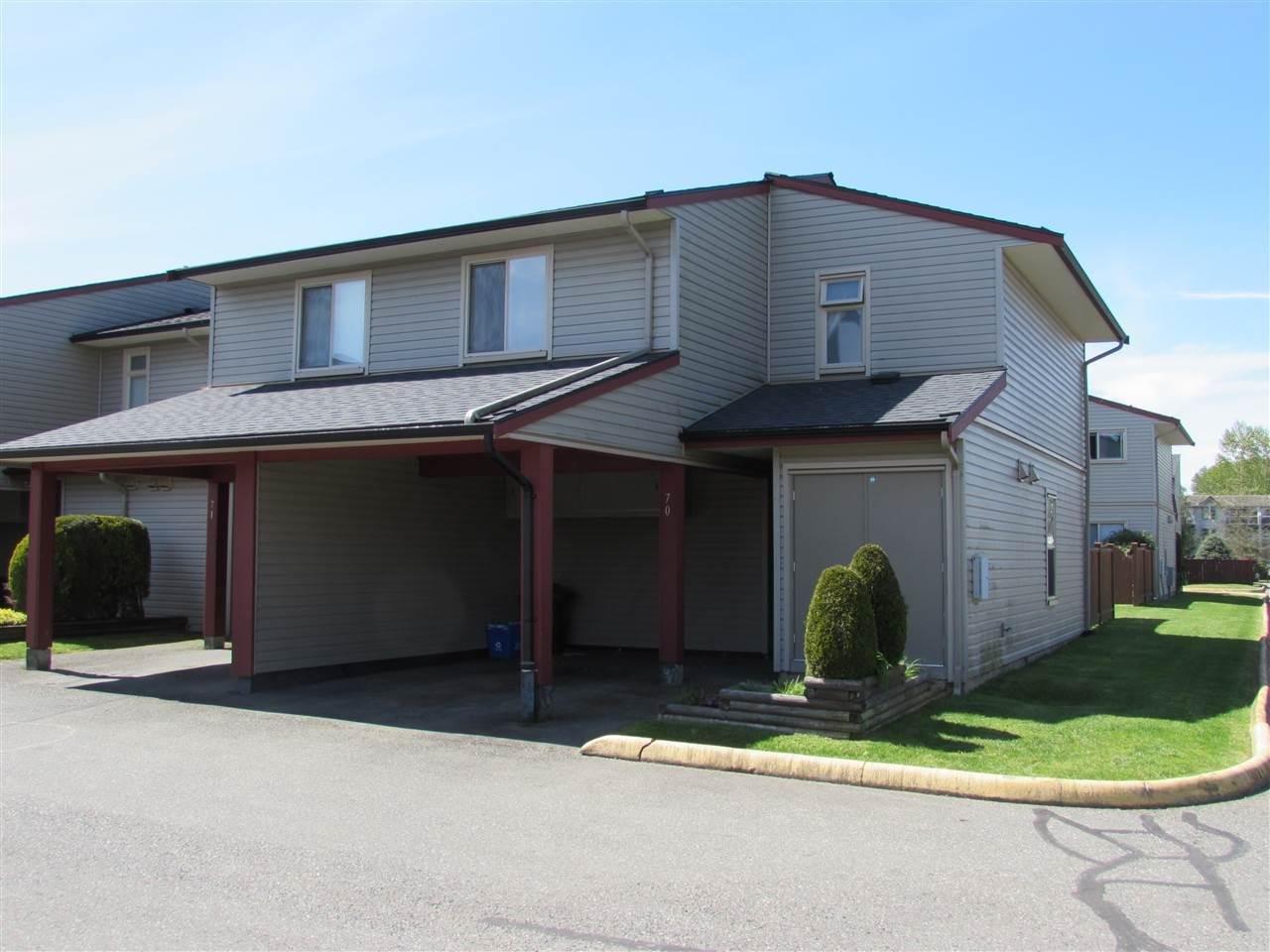 R2058343 - 70 27456 32 AVENUE, Aldergrove Langley, Langley, BC - Townhouse