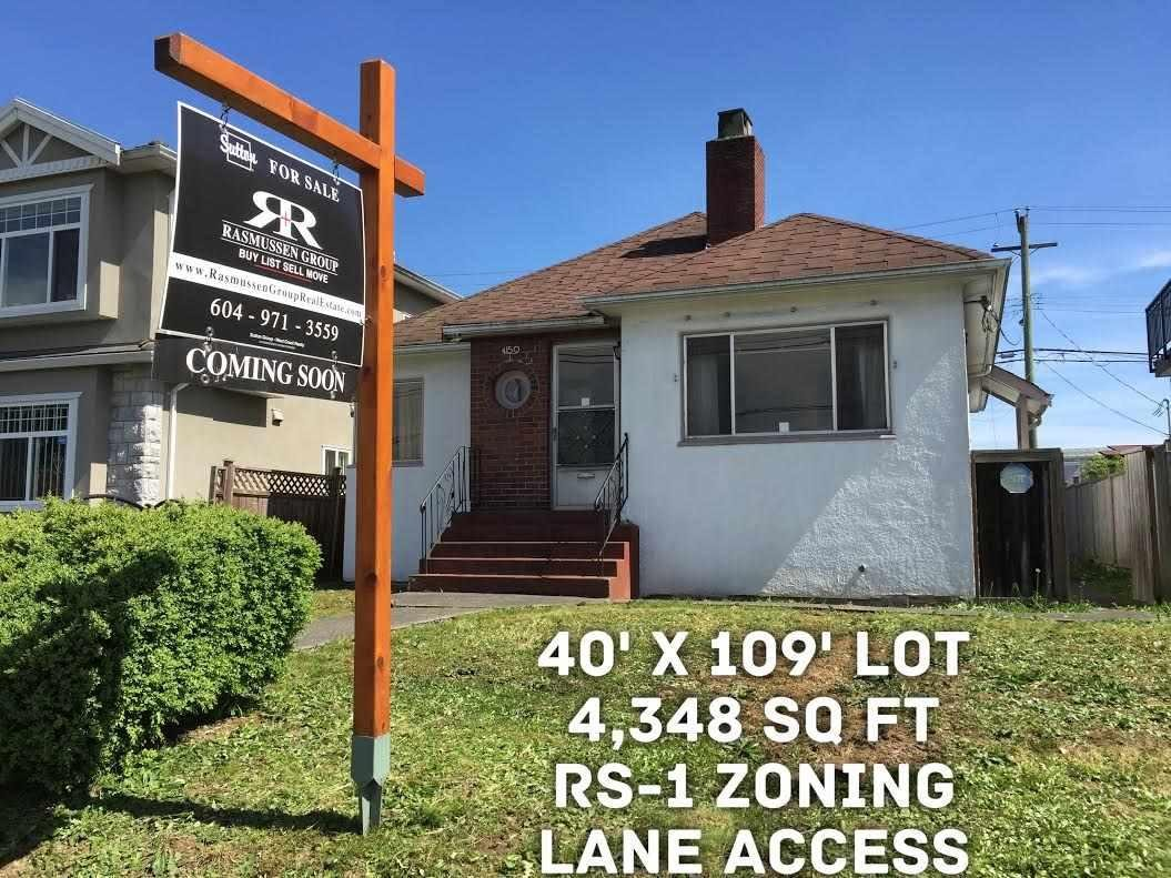 R2059189 - 4150 VICTORIA DRIVE, Victoria VE, Vancouver, BC - House/Single Family