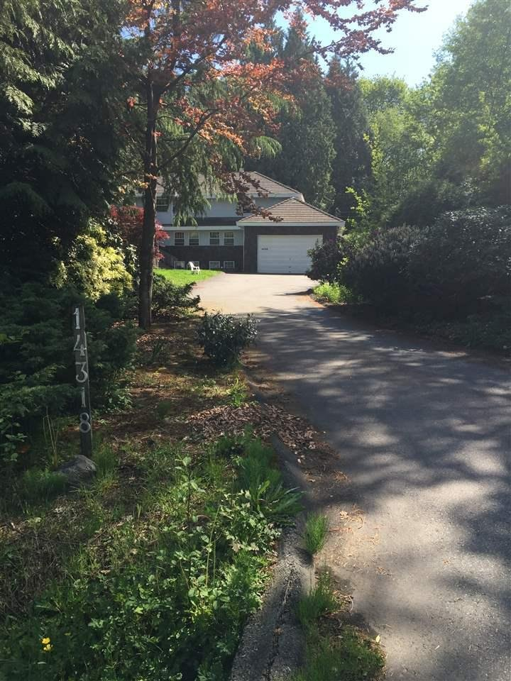 R2060366 - 14318 60 AVENUE, Sullivan Station, Surrey, BC - House with Acreage