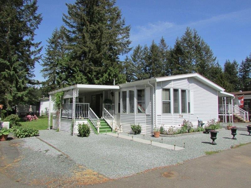 R2060497 - 214 20071 24TH AVENUE, Brookswood Langley, Langley, BC - Manufactured