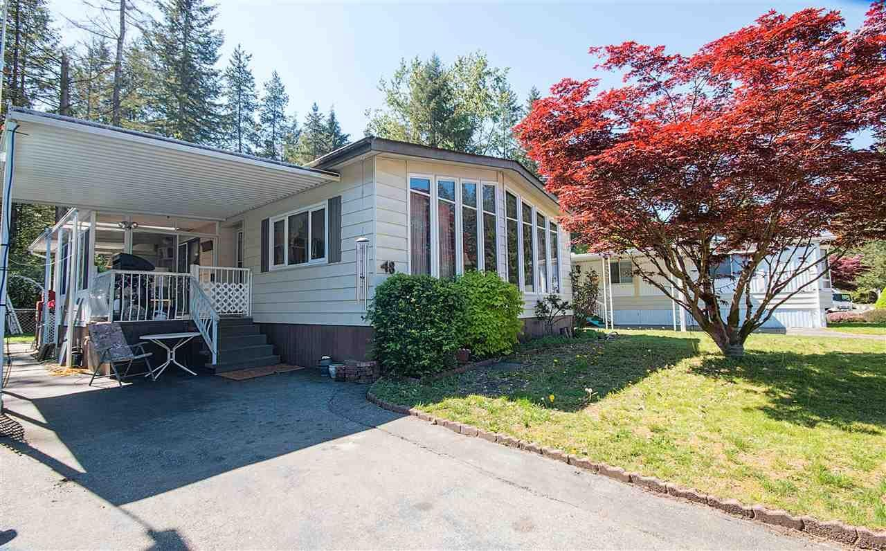 R2061584 - 48 2305 200 STREET, Brookswood Langley, Langley, BC - Manufactured