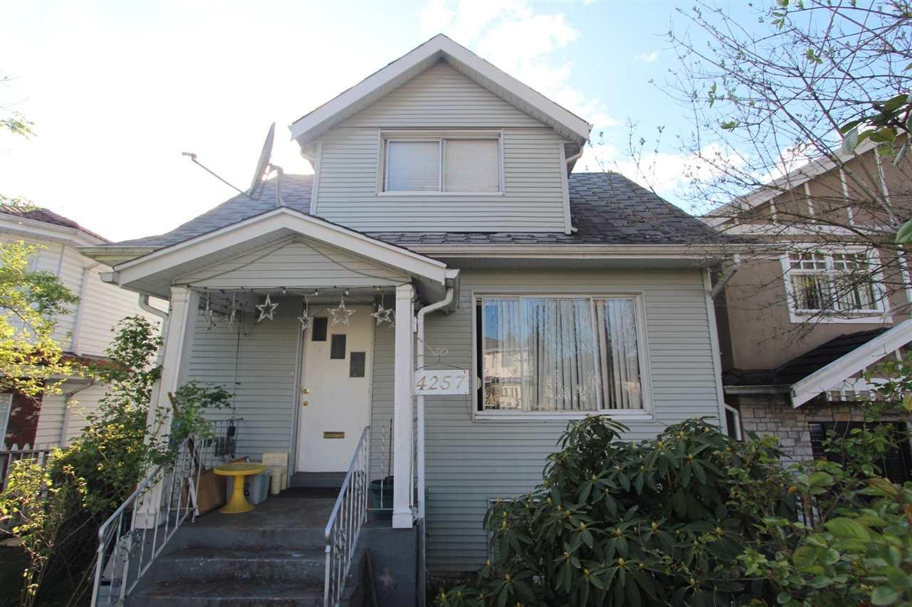 R2065530 - 4257 BEATRICE STREET, Victoria VE, Vancouver, BC - House/Single Family