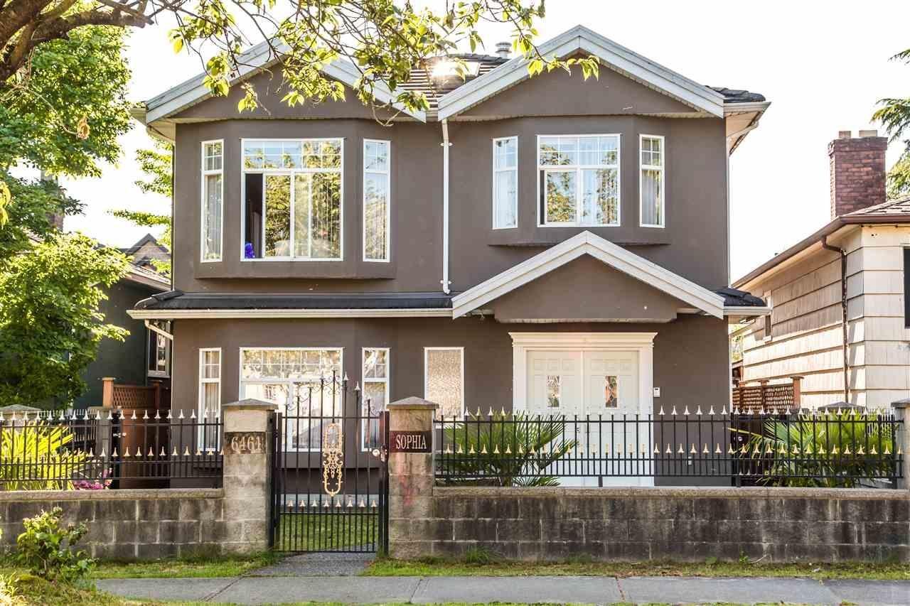 R2066073 - 6461 SOPHIA STREET, Main, Vancouver, BC - House/Single Family