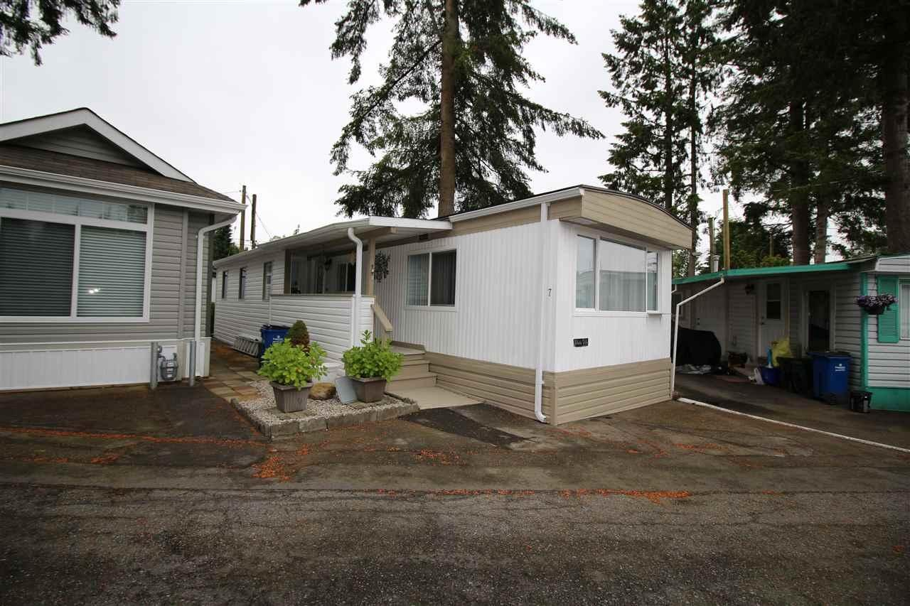 R2067602 - 7 24330 FRASER HIGHWAY, Otter District, Langley, BC - Manufactured