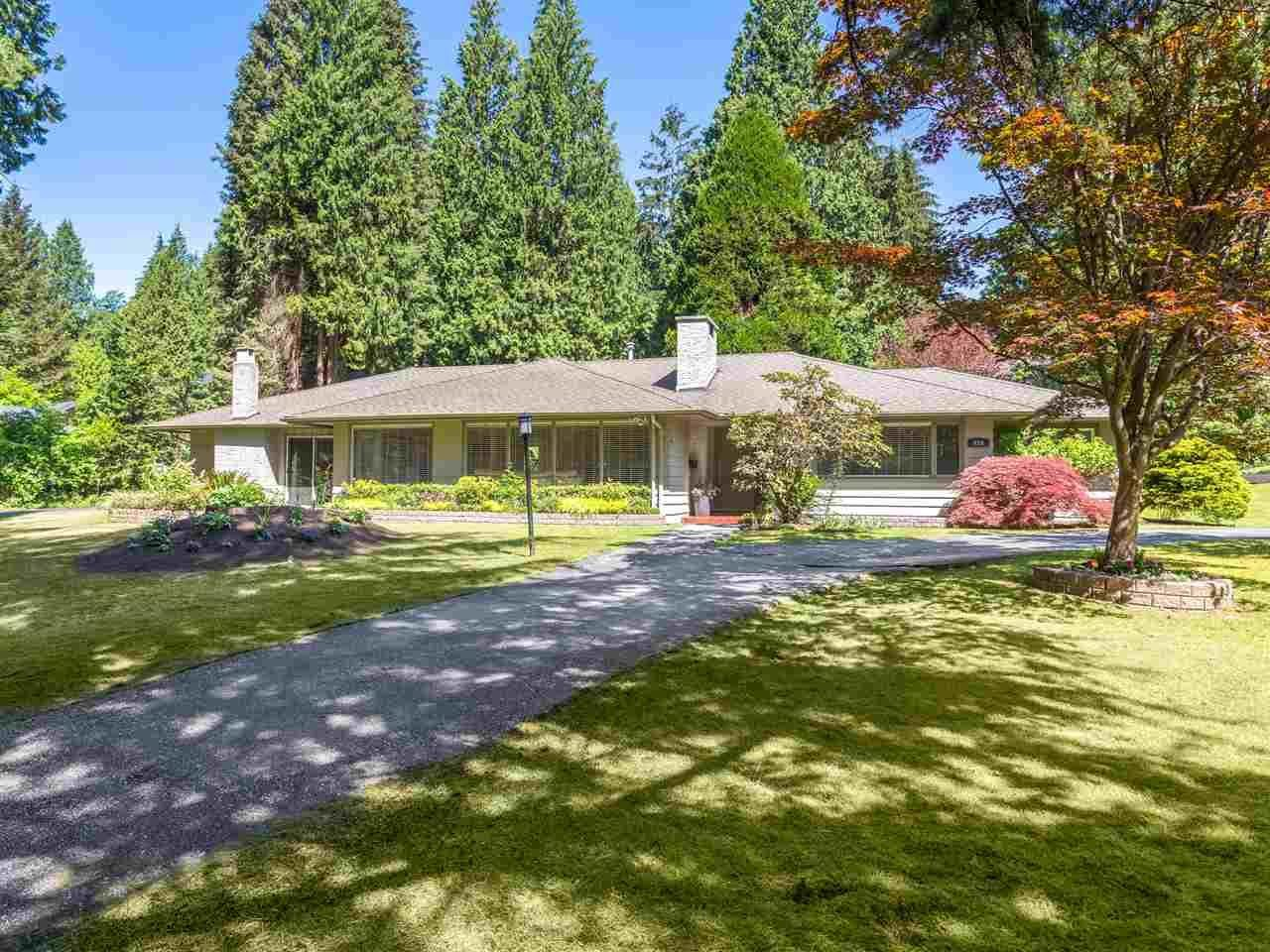 R2068009 - 424 HADDEN DRIVE, British Properties, West Vancouver, BC - House/Single Family