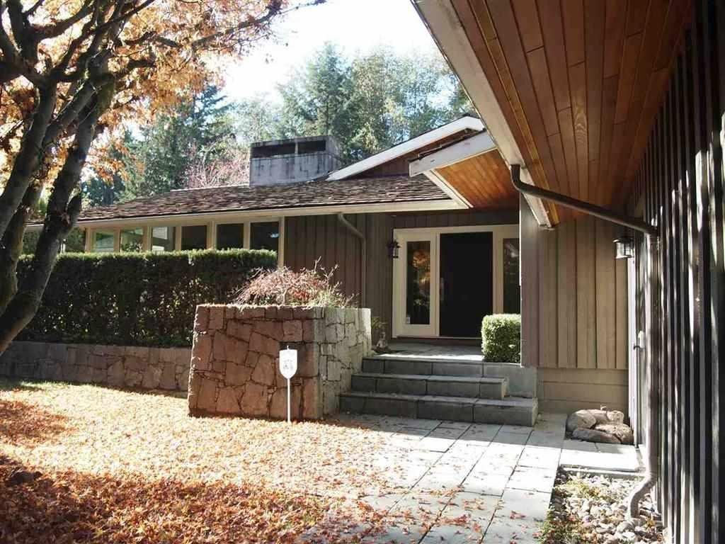 R2068192 - 605 KING GEORGES WAY, British Properties, West Vancouver, BC - House/Single Family
