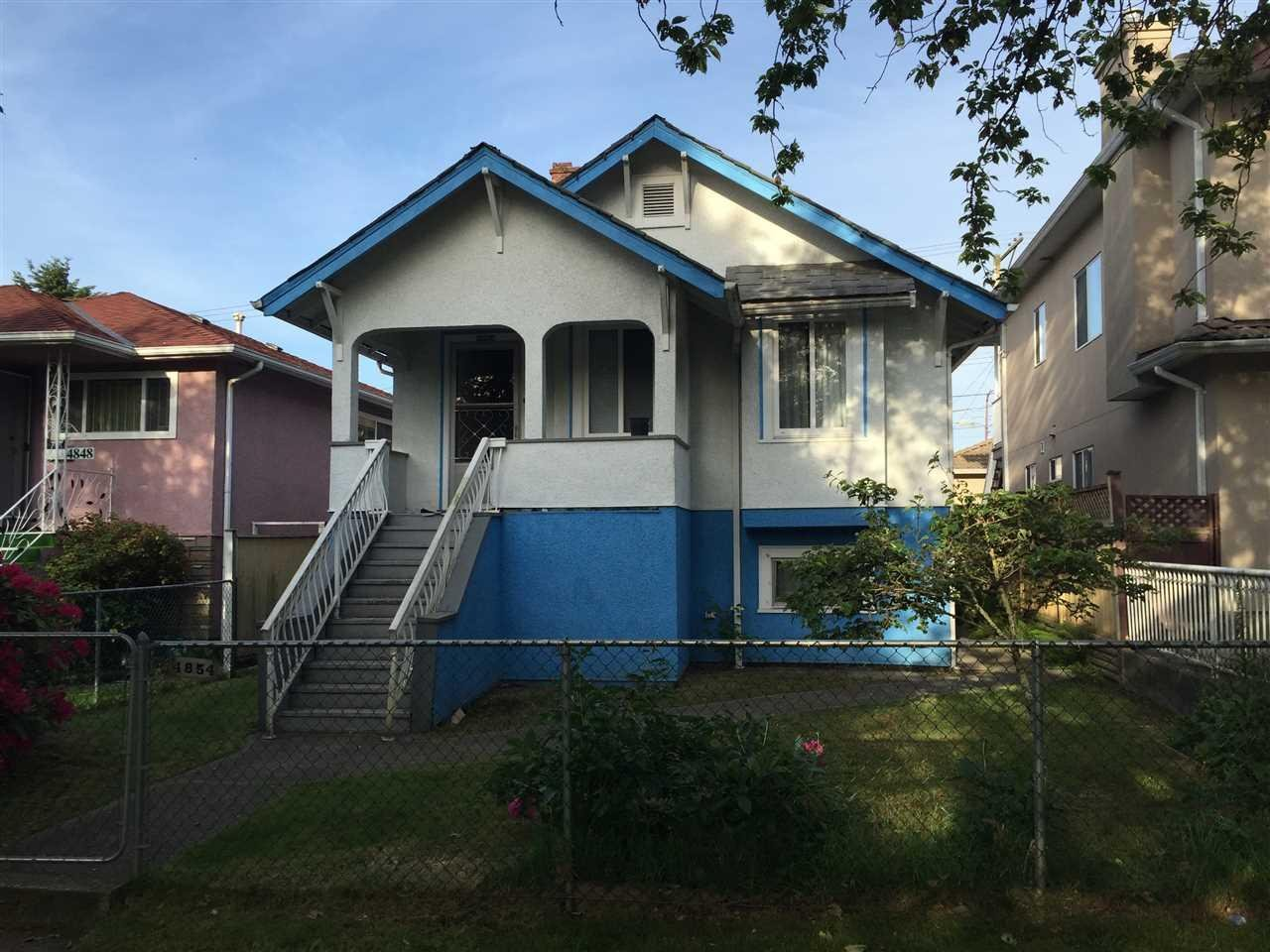 R2069178 - 4854 BEATRICE STREET, Victoria VE, Vancouver, BC - House/Single Family