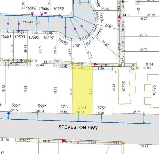 R2069542 - 5731 STEVESTON HIGHWAY, Steveston North, Richmond, BC - House/Single Family