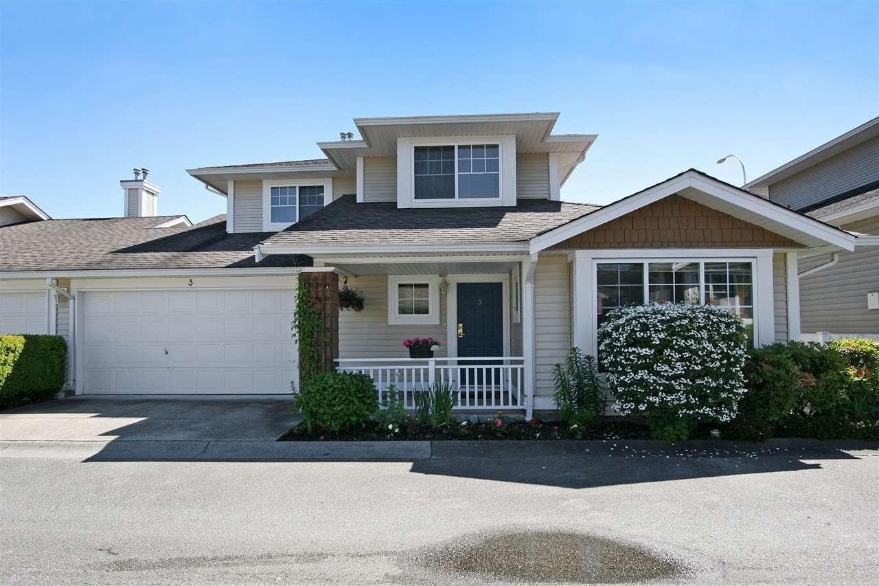 R2069697 - 3 6885 184 STREET, Cloverdale BC, Surrey, BC - Townhouse