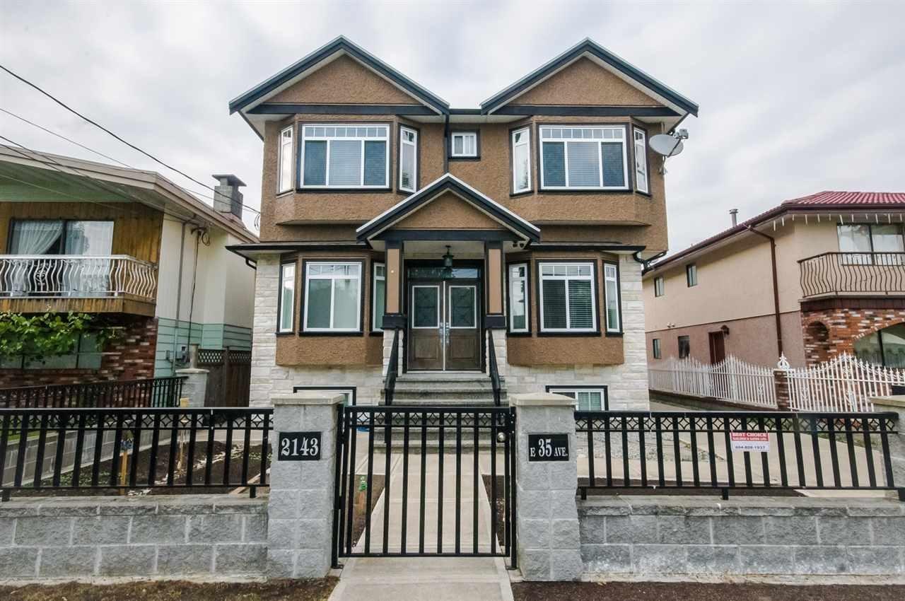 R2069890 - 2143 E 35TH AVENUE, Victoria VE, Vancouver, BC - House/Single Family