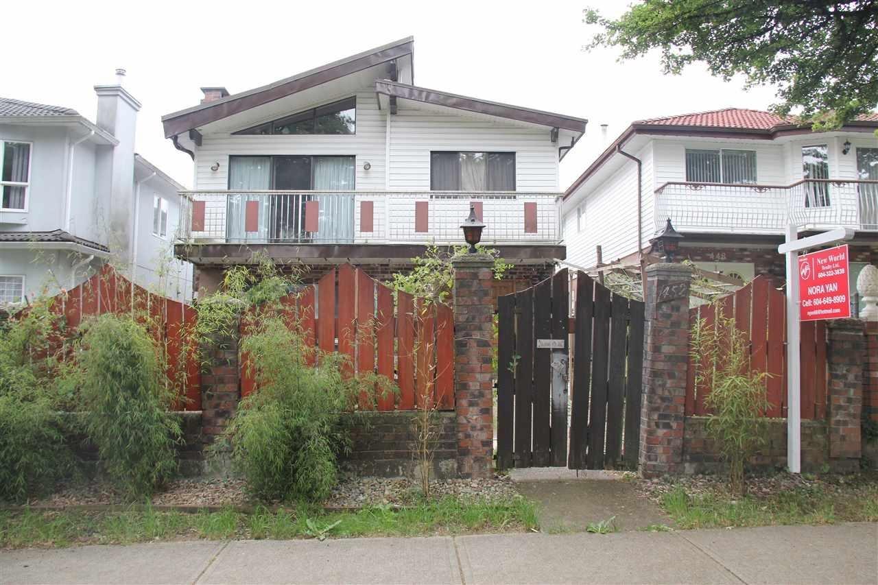R2070441 - 452 E 19TH AVENUE, Fraser VE, Vancouver, BC - House/Single Family