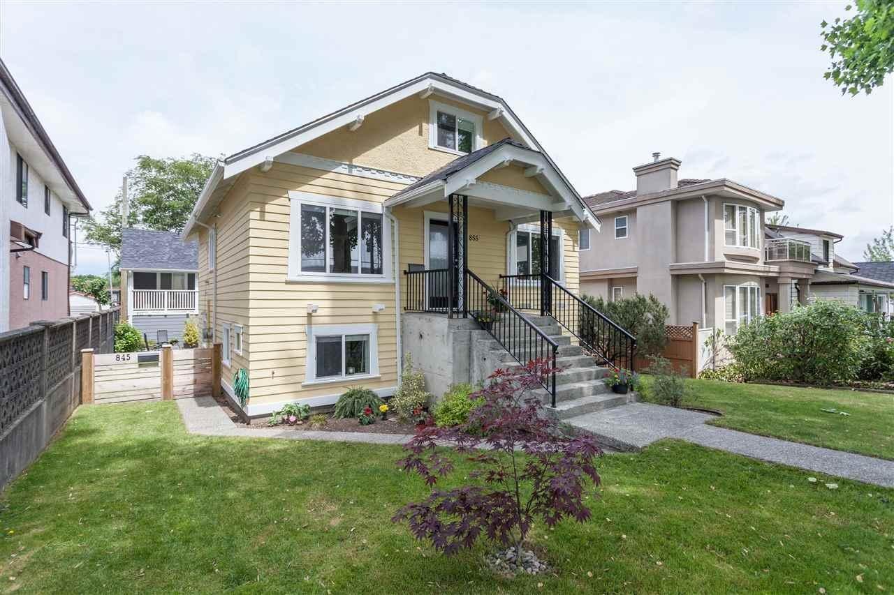 R2071078 - 855 E 24TH AVENUE, Fraser VE, Vancouver, BC - House/Single Family