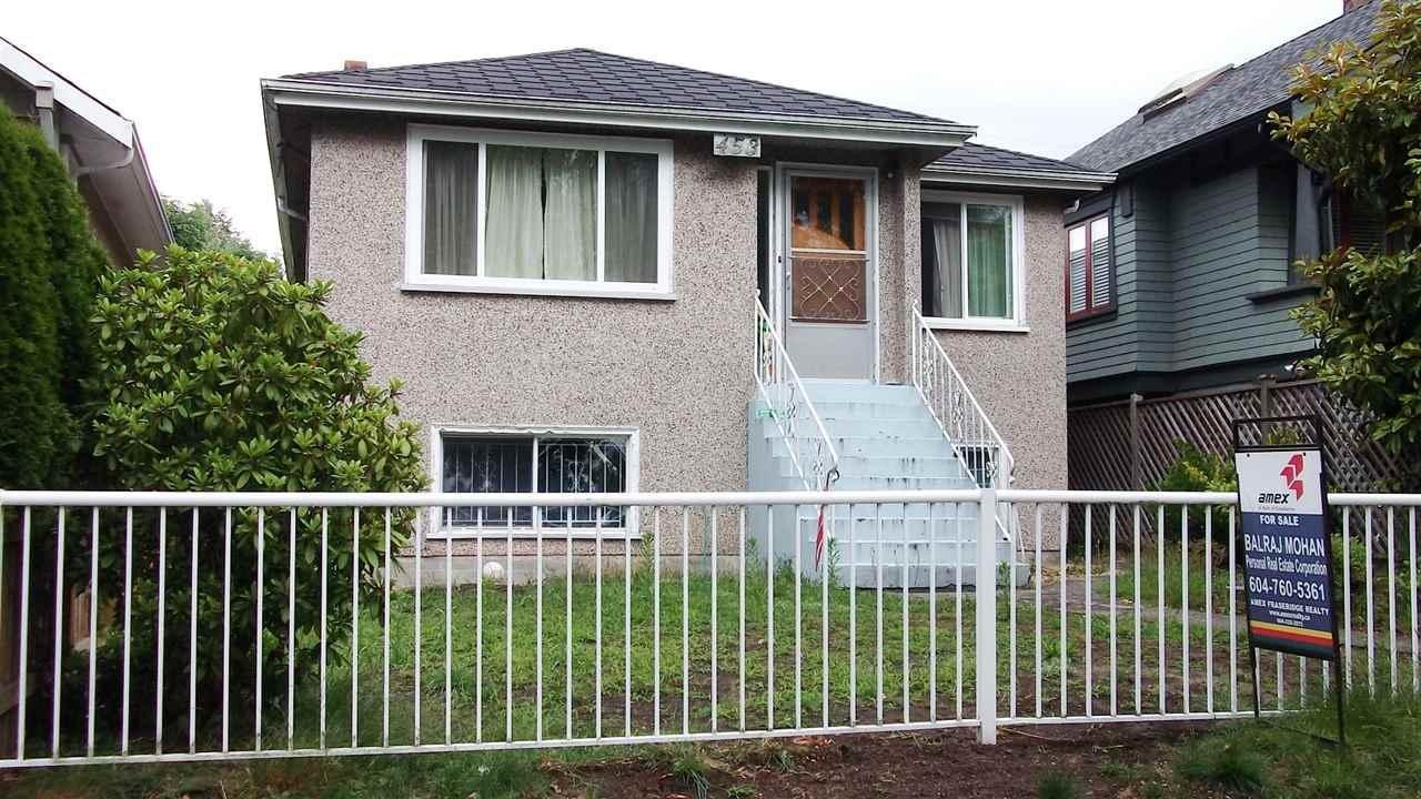 R2080622 - 453 E 47TH AVENUE, Fraser VE, Vancouver, BC - House/Single Family