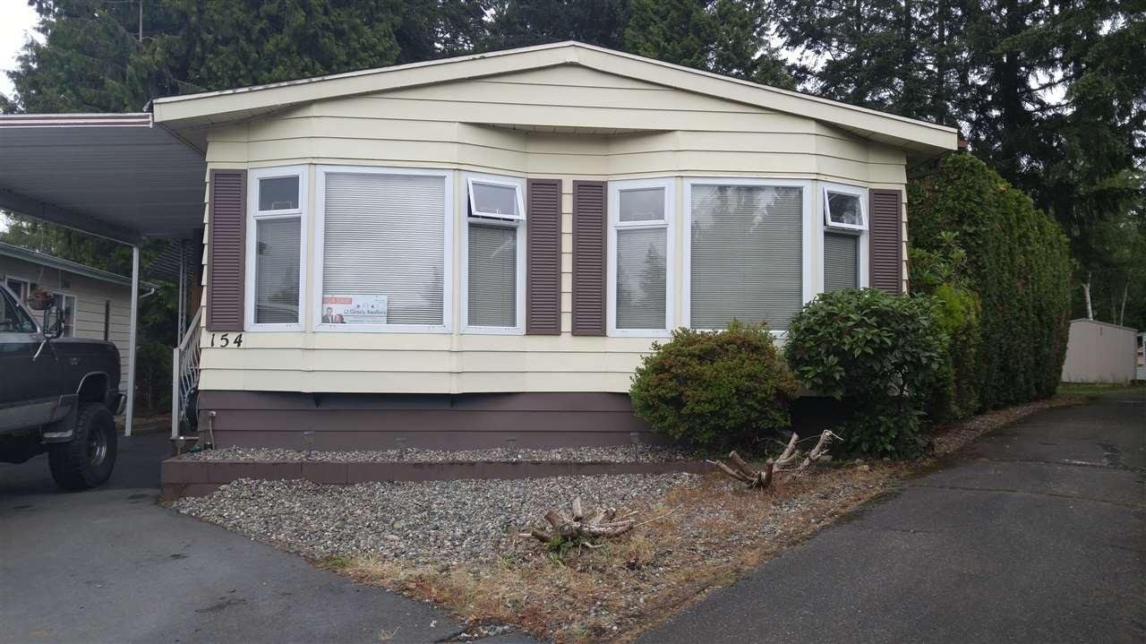 R2081609 - 154 3665 244 STREET, Otter District, Langley, BC - Manufactured