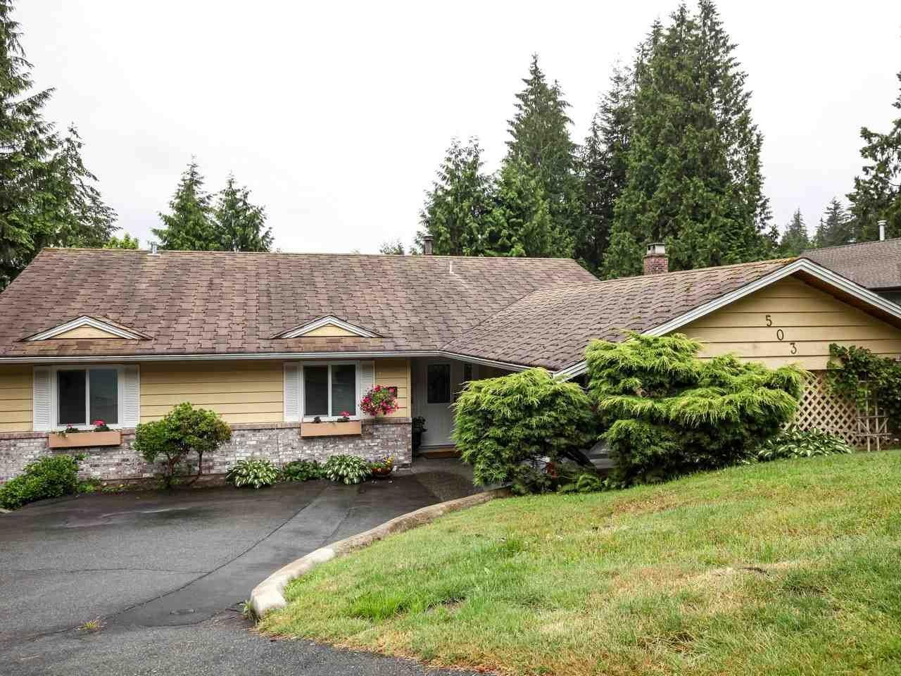 R2081626 - 503 E BRAEMAR ROAD, Braemar, North Vancouver, BC - House/Single Family