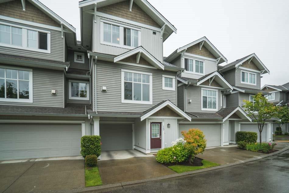 R2082276 - 15 16760 61 AVENUE, Cloverdale BC, Surrey, BC - Townhouse