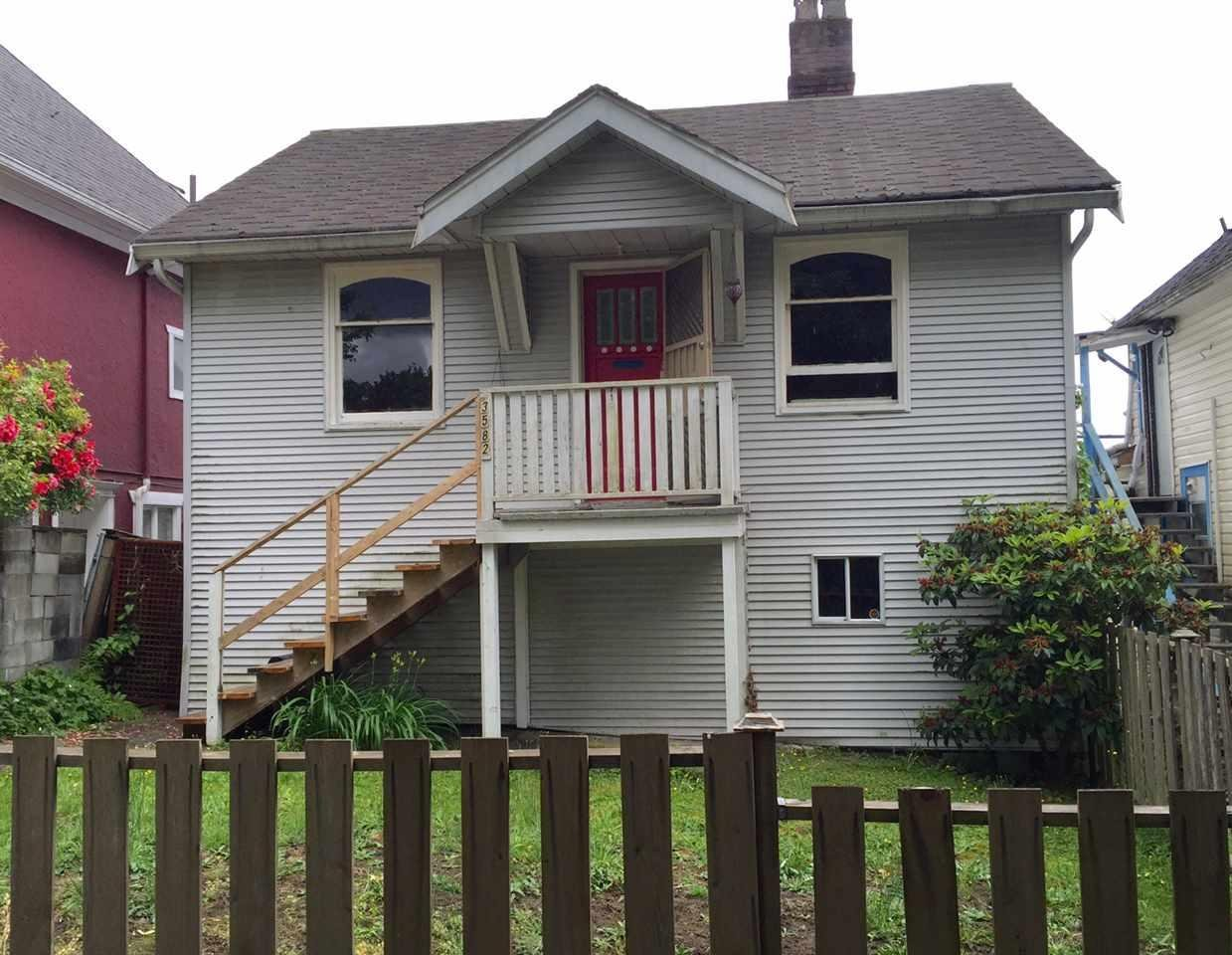 R2082456 - 3582 FRANKLIN STREET, Hastings East, Vancouver, BC - House/Single Family