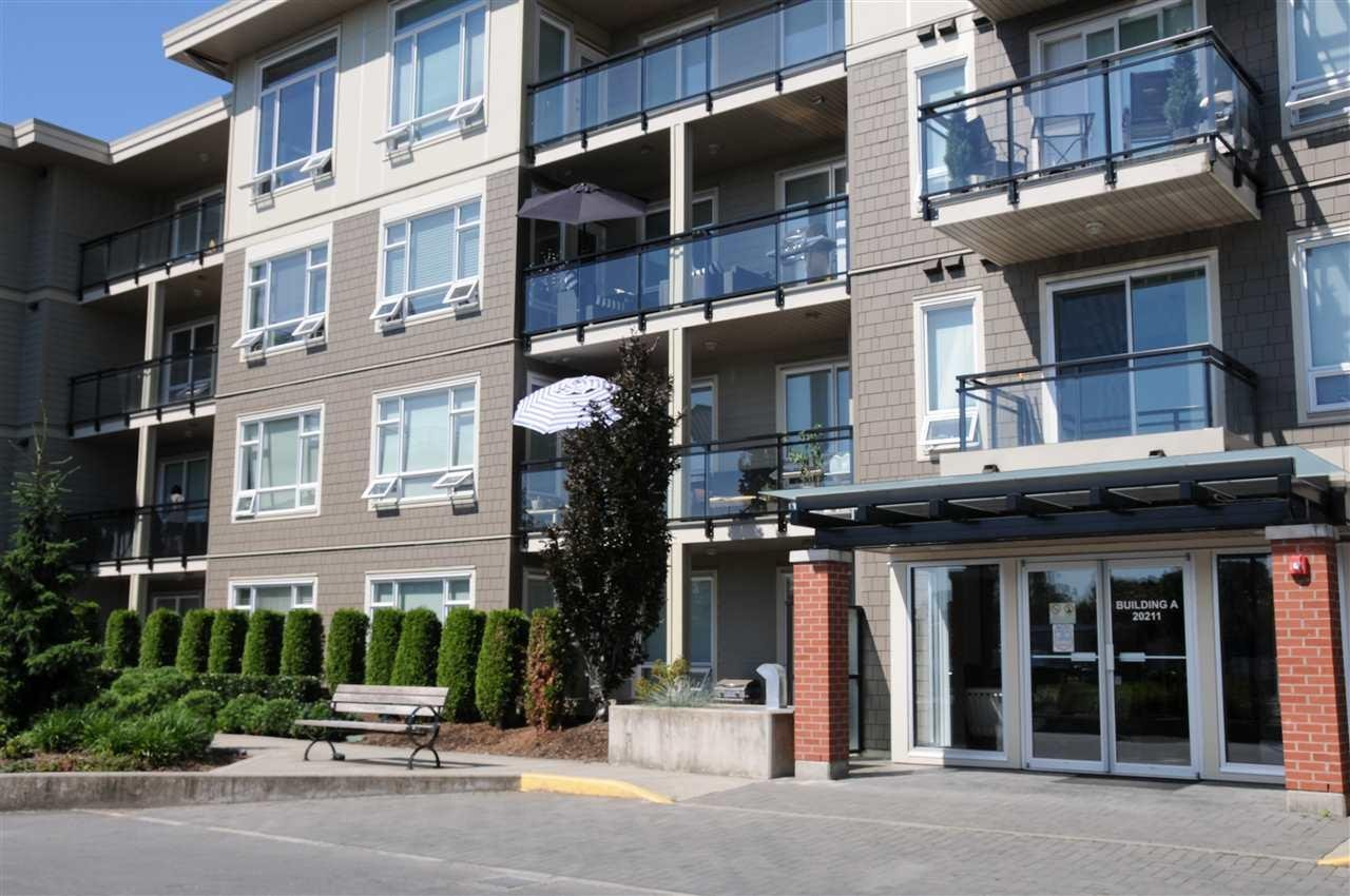 R2083990 - A306 20211 66 AVENUE, Willoughby Heights, Langley, BC - Apartment Unit