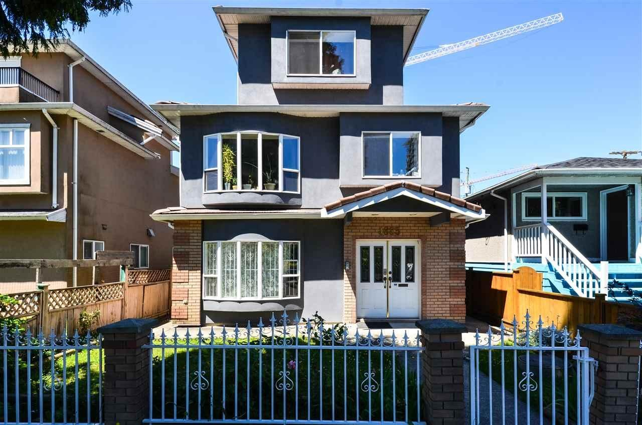 R2085010 - 4885 BALDWIN STREET, Victoria VE, Vancouver, BC - House/Single Family
