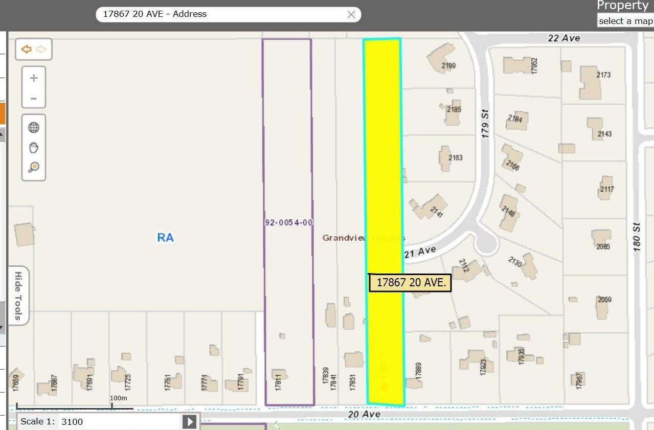 R2091557 - 17867 20 AVENUE, Hazelmere, Surrey, BC - House with Acreage