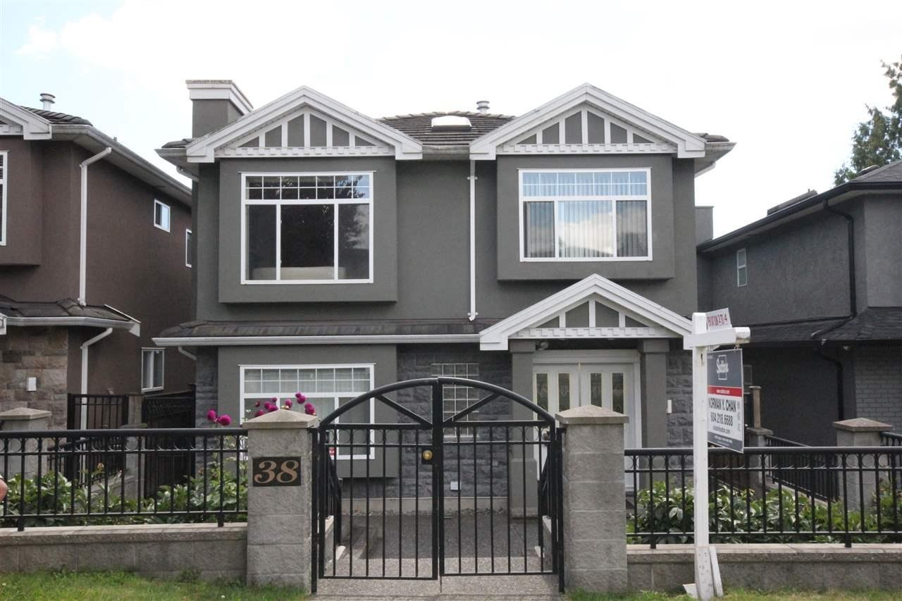 R2092885 - 38 E 62ND AVENUE, South Vancouver, Vancouver, BC - House/Single Family