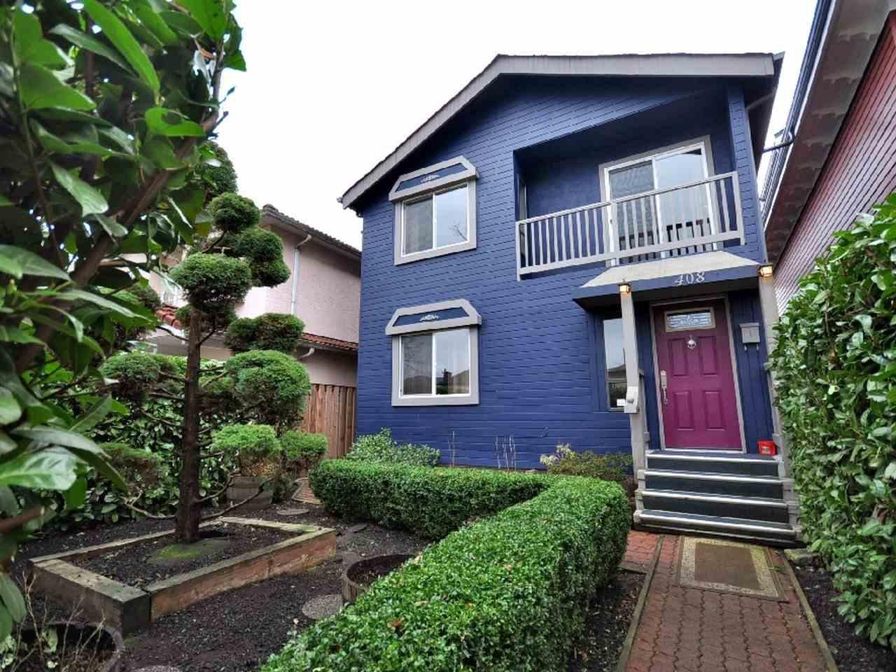 R2096069 - 408 E 17TH AVENUE, Fraser VE, Vancouver, BC - House/Single Family