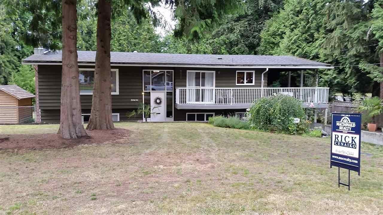 R2096133 - 20431 46 AVENUE, Langley City, Langley, BC - House/Single Family