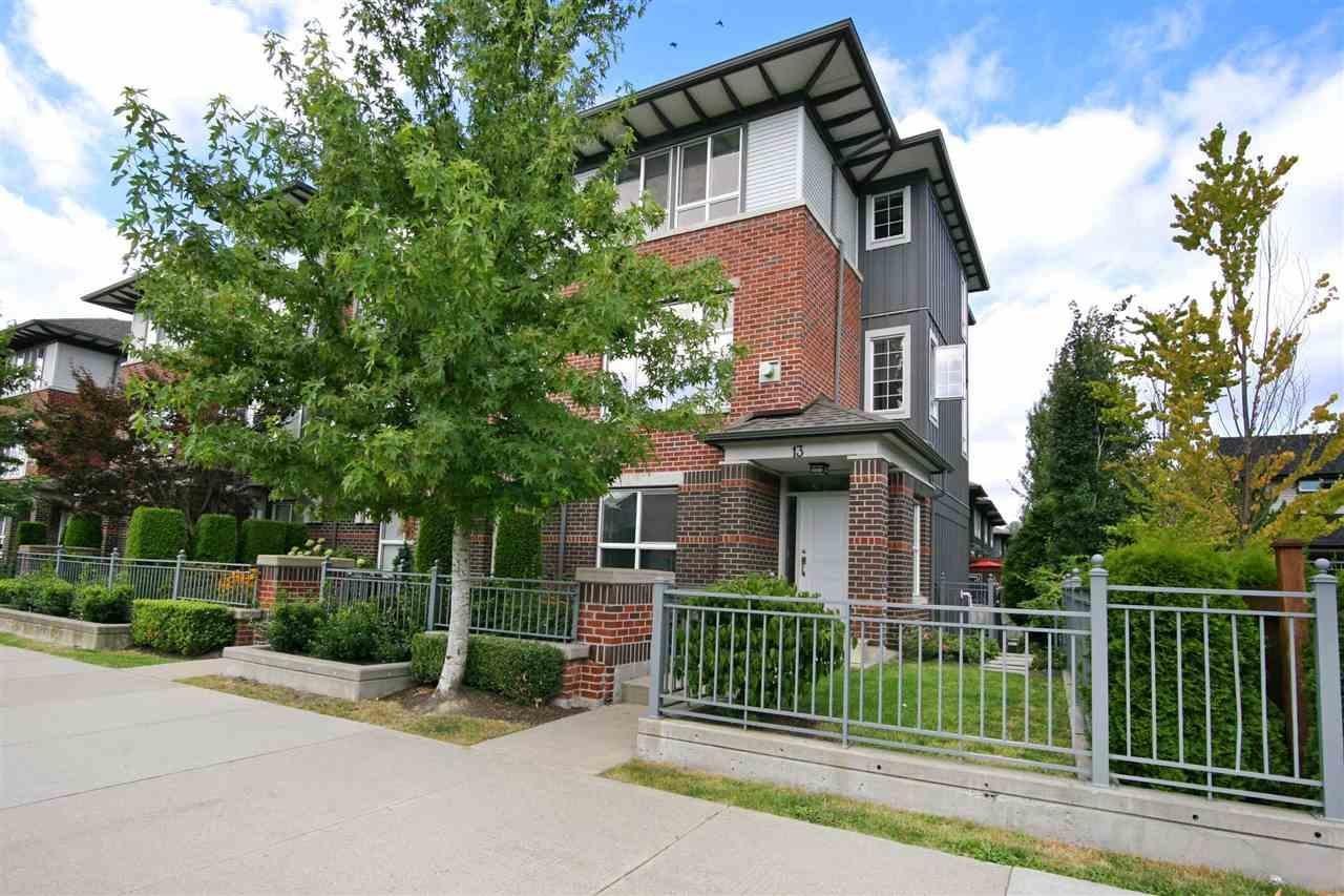 R2098599 - 13 18777 68A AVENUE, Clayton, Surrey, BC - Townhouse