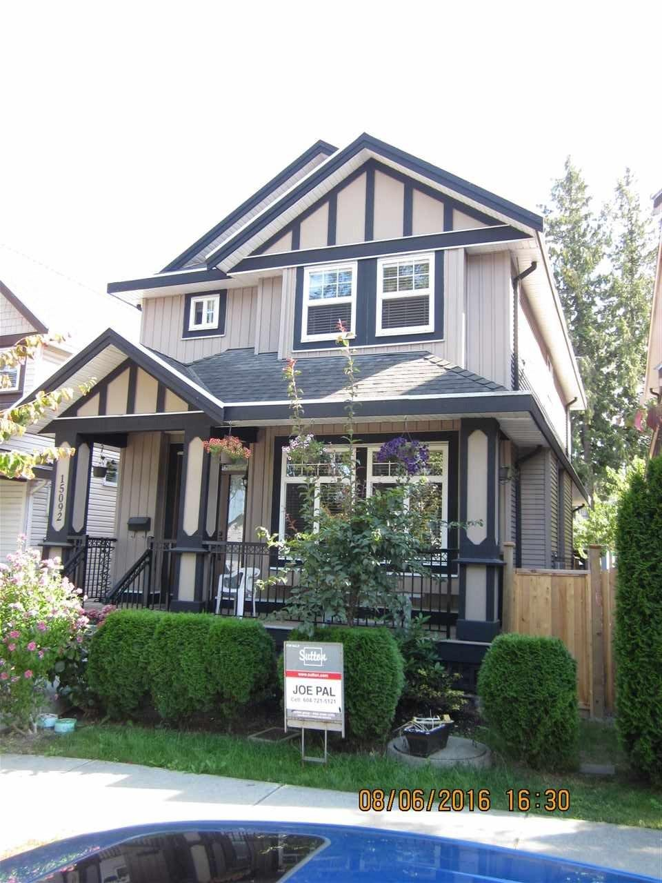 R2098611 - 15092 60 AVENUE, Sullivan Station, Surrey, BC - House/Single Family