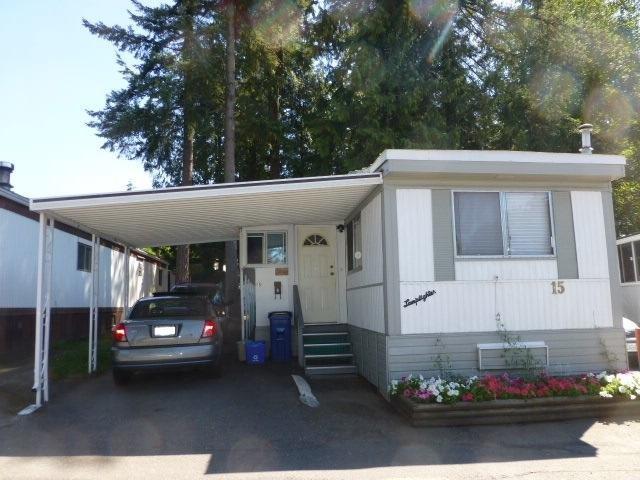 R2100248 - 15 24330 FRASER HIGHWAY, Otter District, Langley, BC - Manufactured