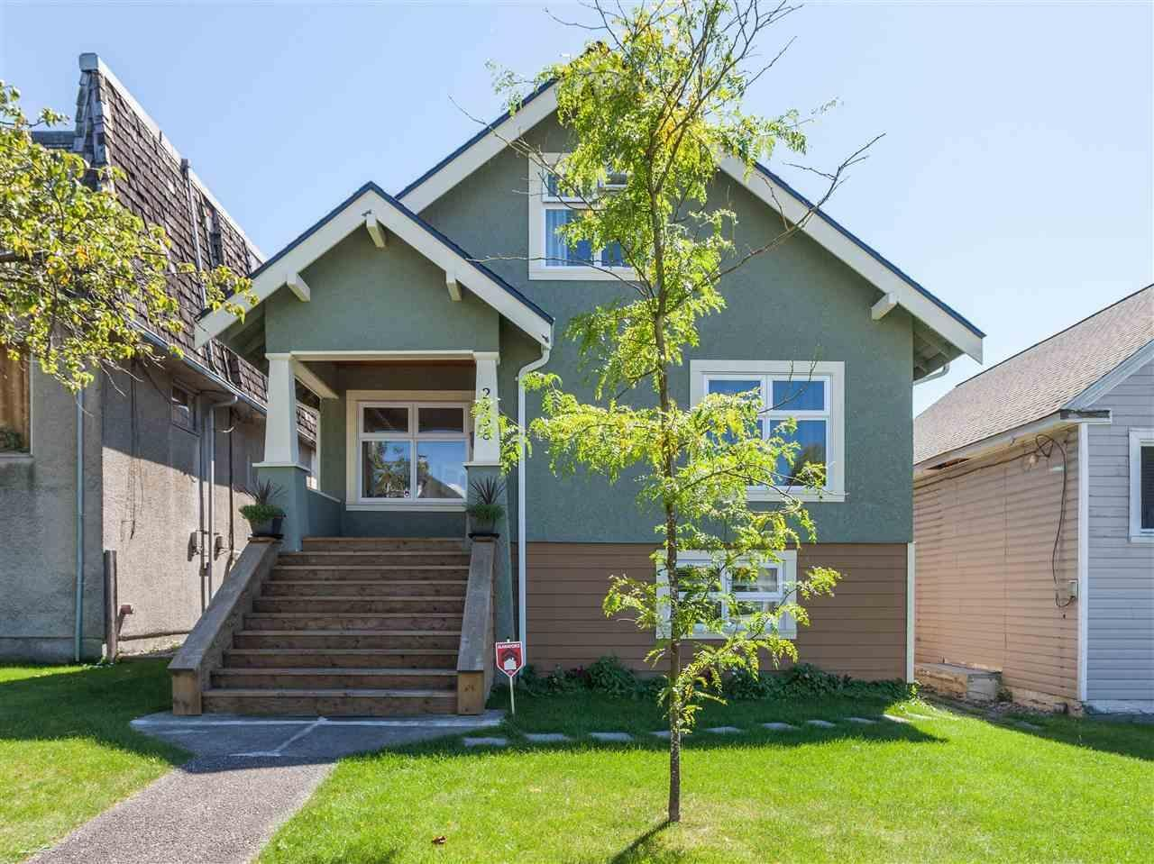 R2100318 - 2458 TRIUMPH STREET, Hastings East, Vancouver, BC - House/Single Family