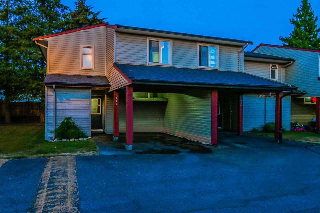 R2101493 - 110 27456 32 AVENUE, Aldergrove Langley, Langley, BC - Townhouse