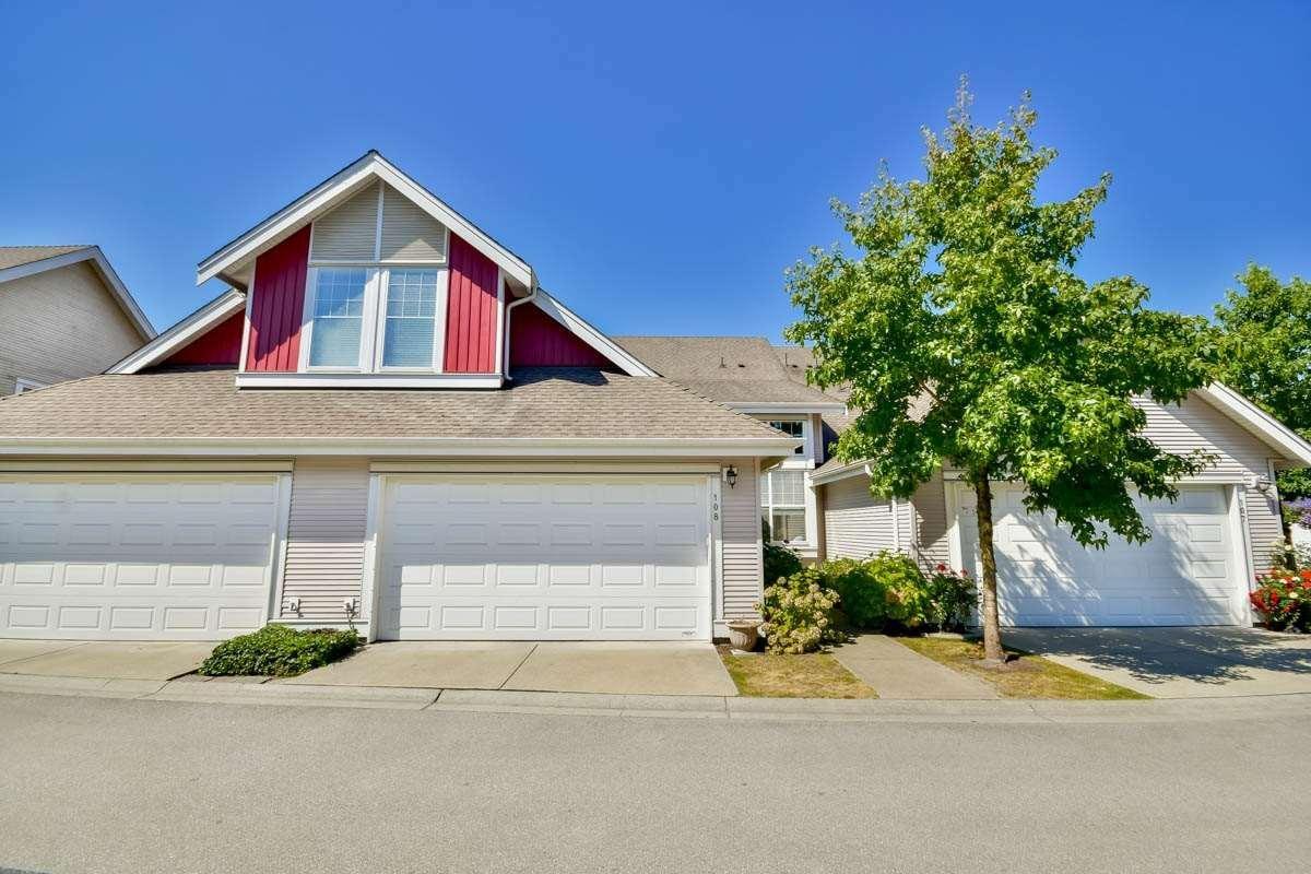 R2101503 - 108 16995 64 AVENUE, Cloverdale BC, Surrey, BC - Townhouse