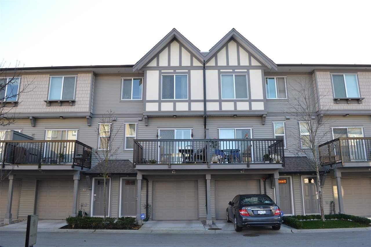 R2101813 - 63 9566 TOMICKI AVENUE, West Cambie, Richmond, BC - Townhouse
